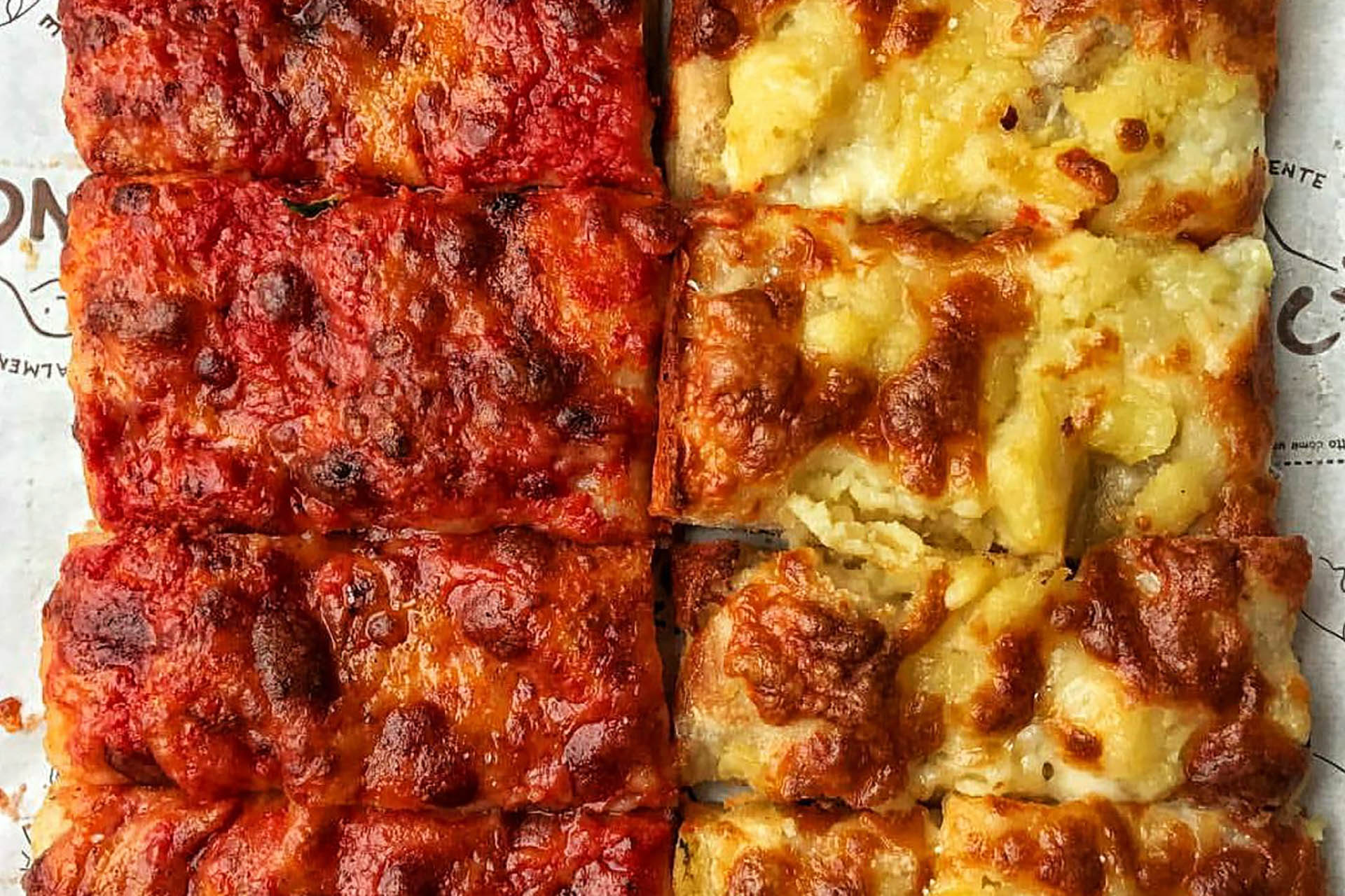 pizzarium bonci rome pizza restaurants vatican