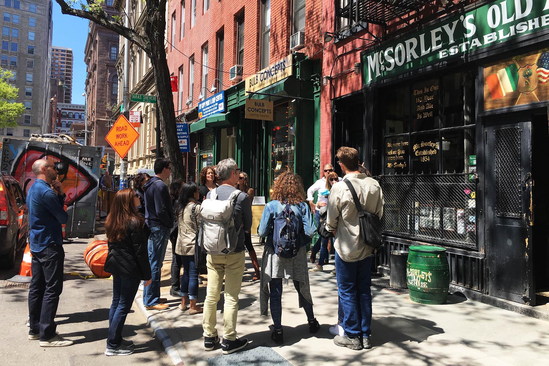 prohibition history tour - new york city bar tour